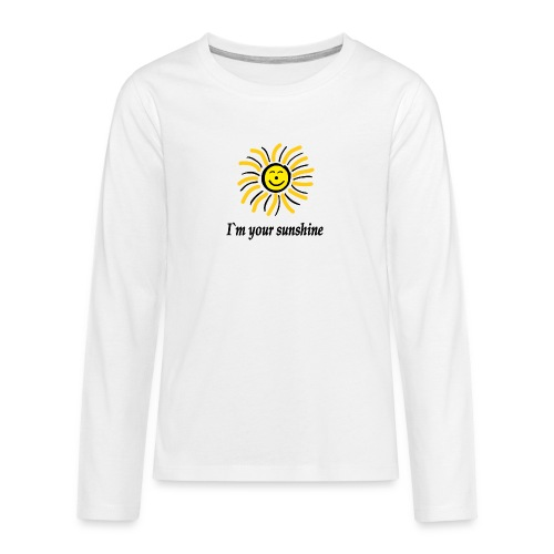 2i m youre sunshine Gelb Top - Teenager Premium Langarmshirt