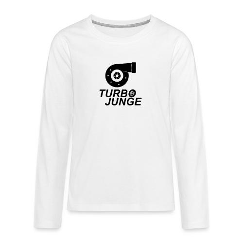 Turbojunge! - Teenager Premium Langarmshirt