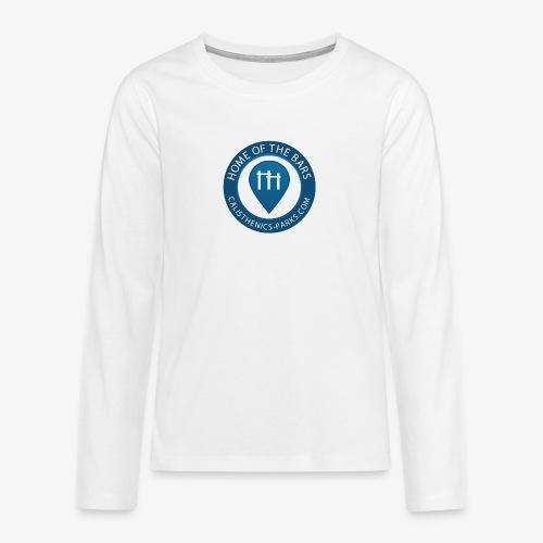 Calisthenics Parks Logo - Teenagers' Premium Longsleeve Shirt