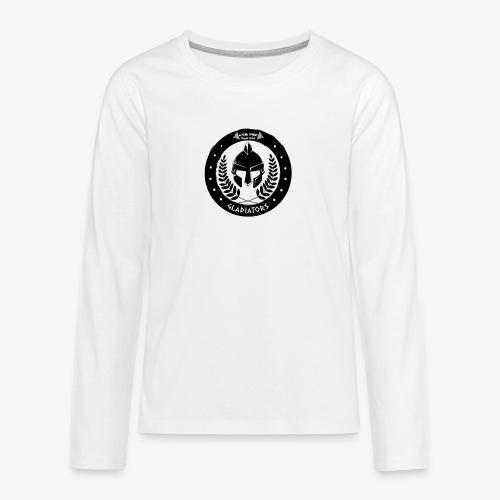 Gym Pur Gladiators Logo - Teenagers' Premium Longsleeve Shirt