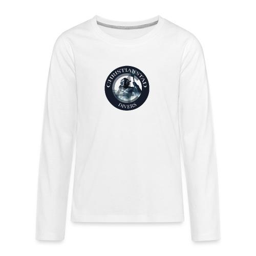 Logotype-2 - Långärmad premium T-shirt tonåring