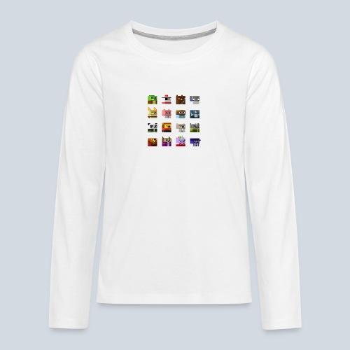 A Planet of Mine Animals - T-shirt manches longues Premium Ado