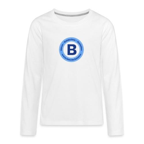 Webradio Balaton - Teenager Premium Langarmshirt