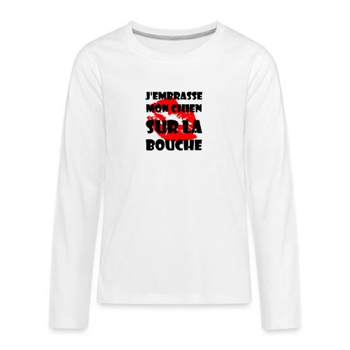 lips - T-shirt manches longues Premium Ado