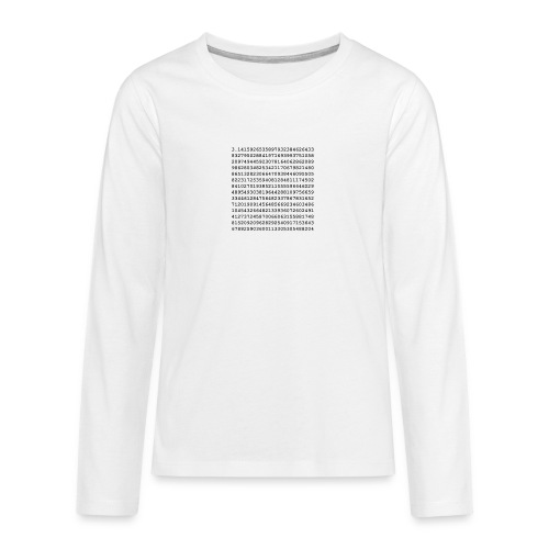 PI - Teenagers' Premium Longsleeve Shirt
