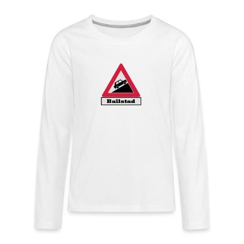 brattv ballstad a png - Premium langermet T-skjorte for tenåringer