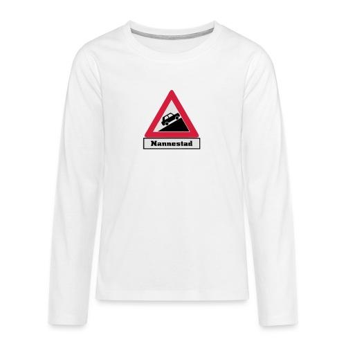 brattv nannestad a png - Premium langermet T-skjorte for tenåringer