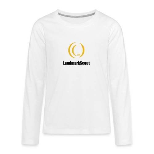 Tshirt White Front logo 2013 png - Teenagers' Premium Longsleeve Shirt