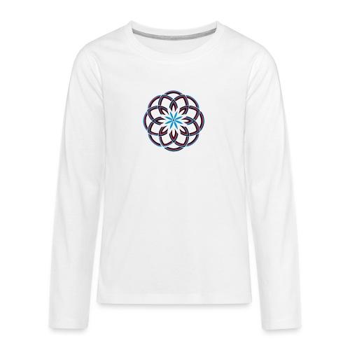 Spirograph 1 - Teenager Premium Langarmshirt