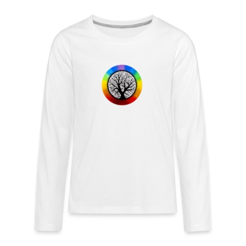 tree of life png - Teenager Premium shirt met lange mouwen