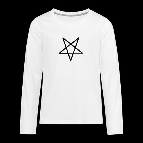 Pentagram2 png - Teenager Premium Langarmshirt