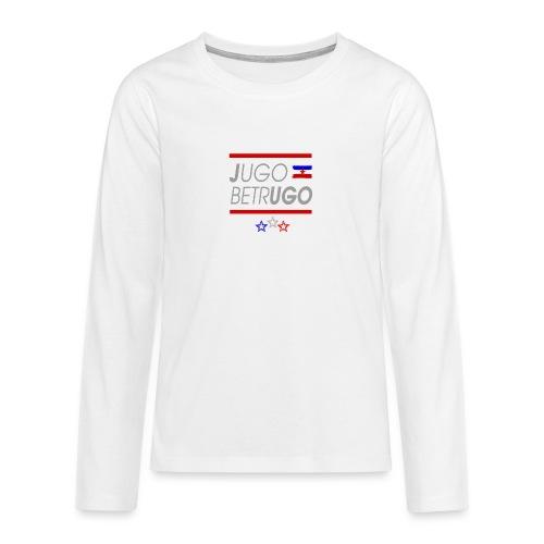 Jugo Betrugo Handy png - Teenager Premium Langarmshirt