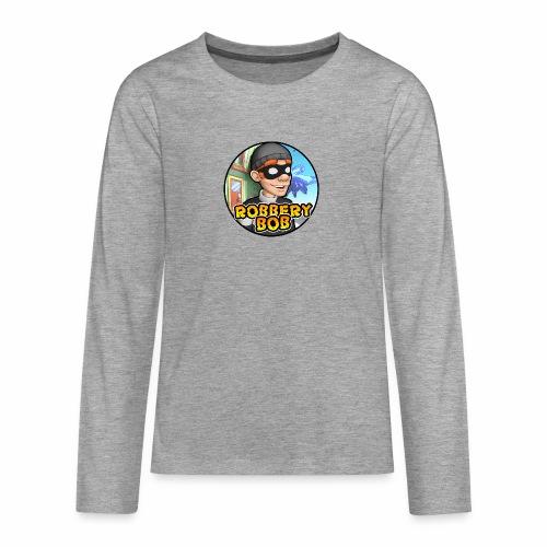 Robbery Bob Button - Teenagers' Premium Longsleeve Shirt