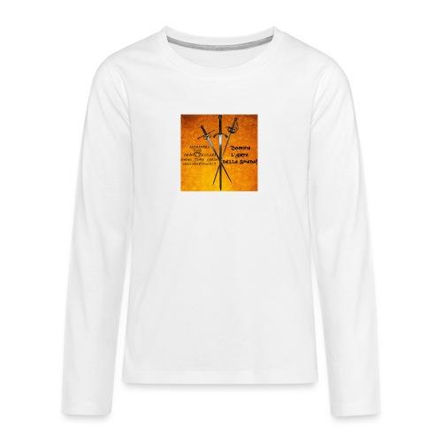 3spade-jpg - Maglietta Premium a manica lunga per teenager