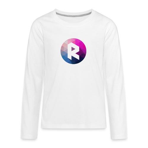 radiant logo - Teenagers' Premium Longsleeve Shirt