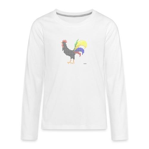kogutt-png - Koszulka Premium z długim rękawem dla nastolatków