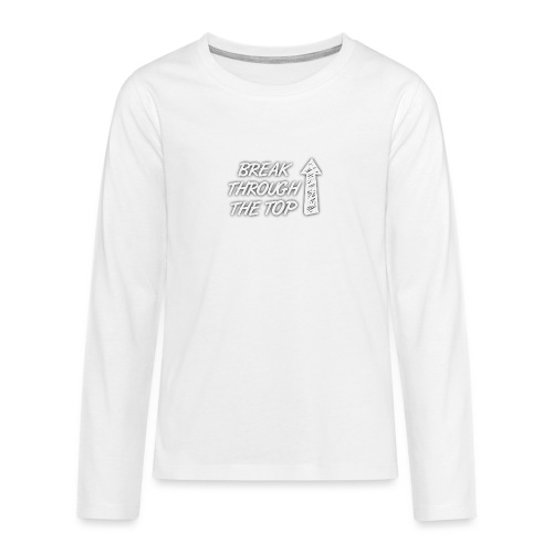 BreakThroughTheTop - Teenagers' Premium Longsleeve Shirt
