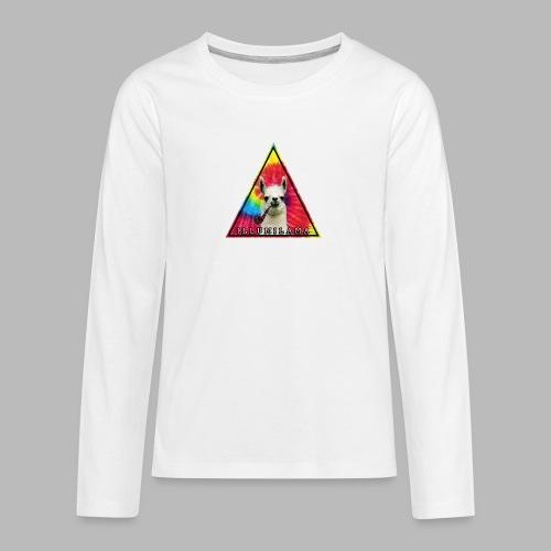 Illumilama logo T-shirt - Teenagers' Premium Longsleeve Shirt