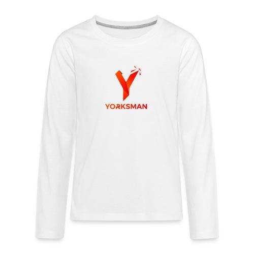 THeOnlyYorksman's Teenage Premium T-Shirt - Teenagers' Premium Longsleeve Shirt