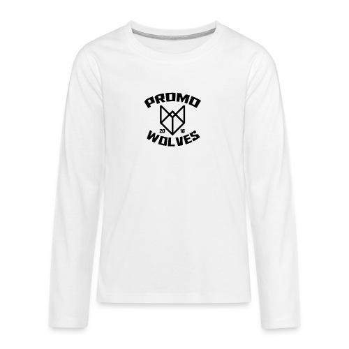 Big Promowolves longsleev - Teenager Premium shirt met lange mouwen