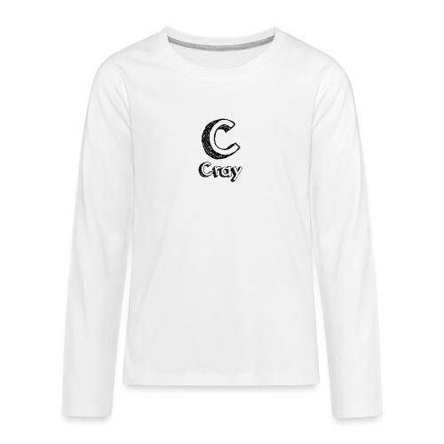 Cray Anstecker - Teenager Premium Langarmshirt