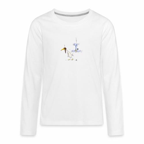 cartoon_Kleimdesign_abstu - Teenager Premium Langarmshirt