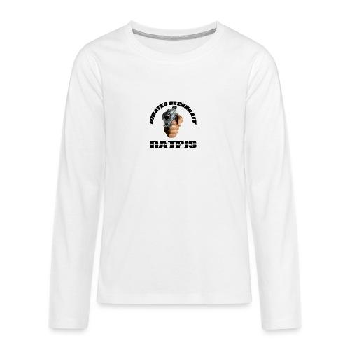 pirate reconnait Ratpis - T-shirt manches longues Premium Ado