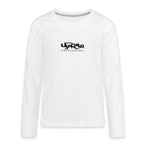Brocahontas - Teenagers' Premium Longsleeve Shirt