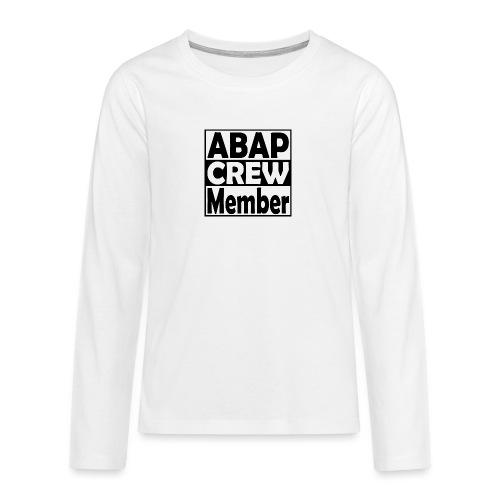 ABAPcrew - Teenager Premium Langarmshirt
