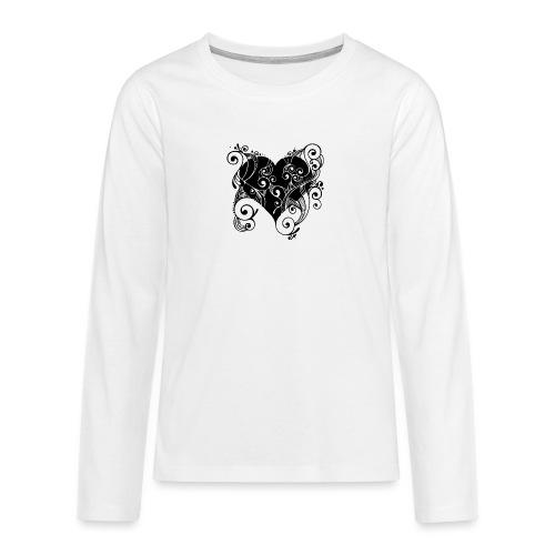 Isle of Heart Petal - Teenagers' Premium Longsleeve Shirt