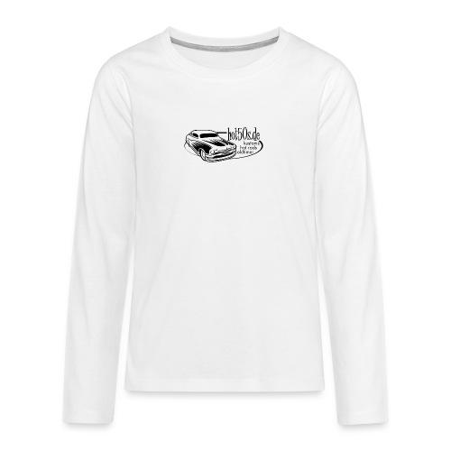 Hot50s Logo - Teenager Premium Langarmshirt