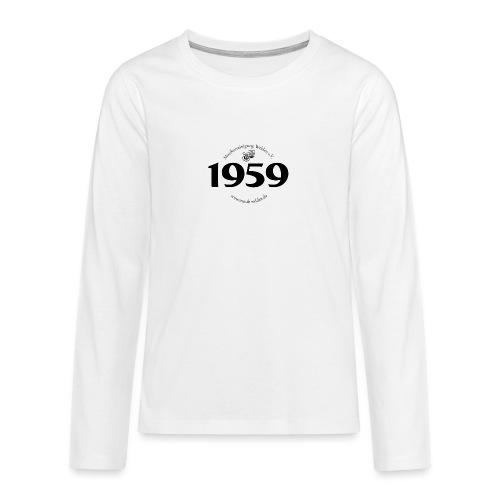 MVW 1959 sw - Teenager Premium Langarmshirt
