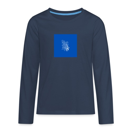 Windy Wings Blue - Teenagers' Premium Longsleeve Shirt