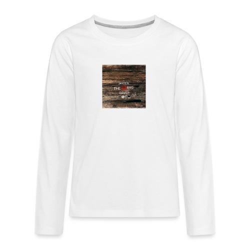Jays cap - Teenagers' Premium Longsleeve Shirt