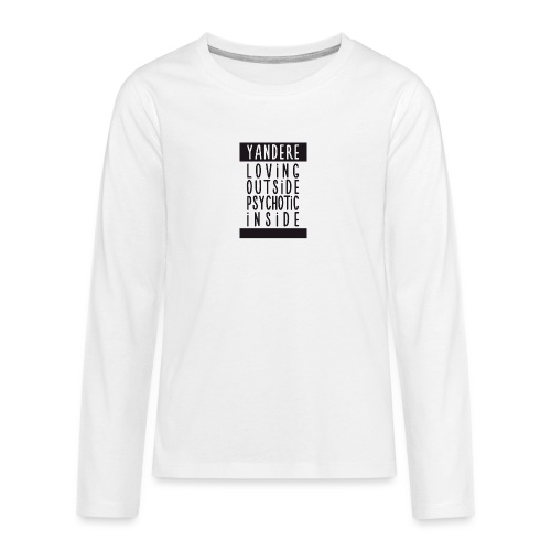 Yandere manga - Teenagers' Premium Longsleeve Shirt
