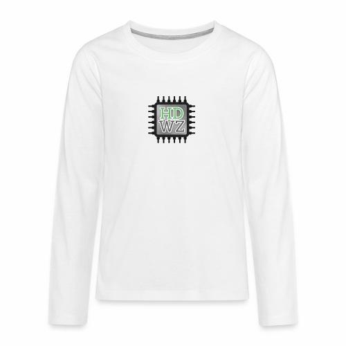 HDwZone - Maglietta Premium a manica lunga per teenager