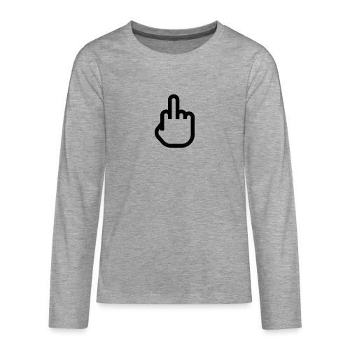 F - OFF - Teenager Premium shirt met lange mouwen