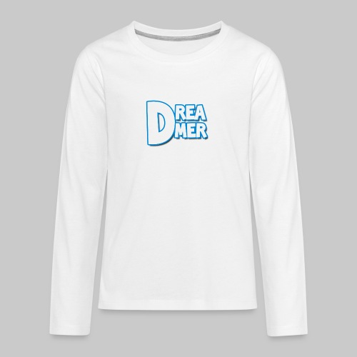 Dreamers' name - Teenagers' Premium Longsleeve Shirt