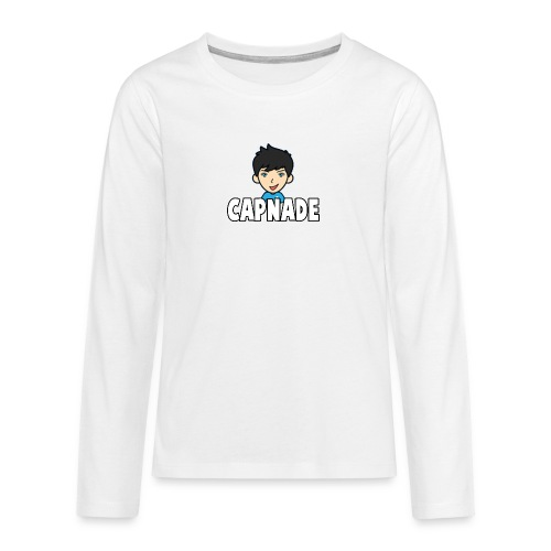 Basic Capnade's Products - Teenagers' Premium Longsleeve Shirt