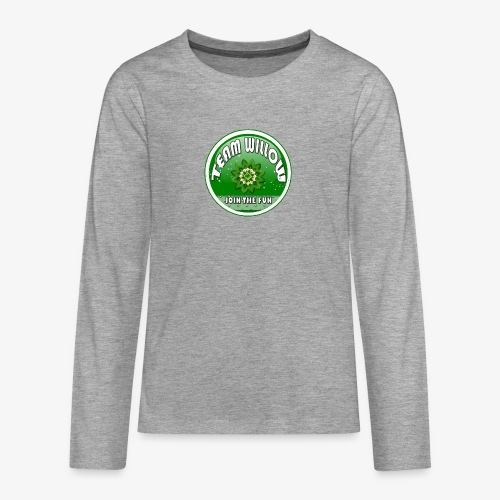 TEAM WILLOW - Teenagers' Premium Longsleeve Shirt
