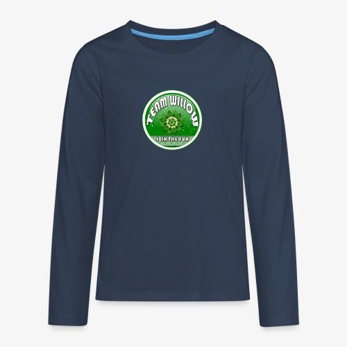 TEAM WILLOW - Teenagers' Premium Longsleeve Shirt