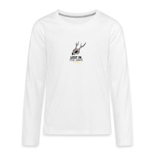 crane sky visu t shirt2 png - T-shirt manches longues Premium Ado