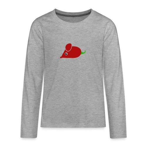 Chillimouse - Teenager Premium Langarmshirt