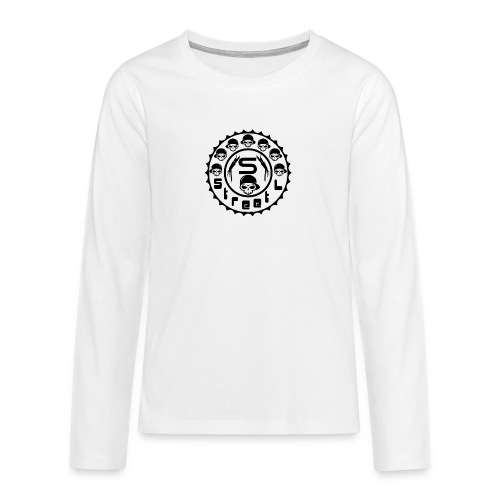 rawstyles rap hip hop logo money design by mrv - Koszulka Premium z długim rękawem dla nastolatków