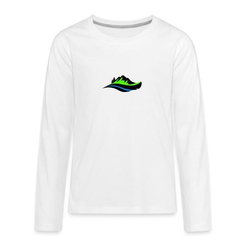 Modern Hoodie Unisex - Långärmad premium T-shirt tonåring