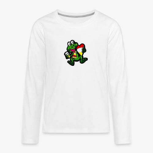 Oeteldonk Kikker - Teenager Premium shirt met lange mouwen