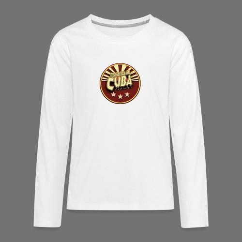 Republica De Cuba Libre - Teenager Premium Langarmshirt