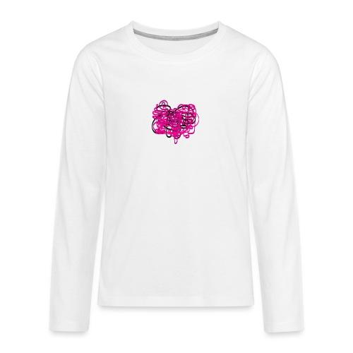 delicious pink - Teenagers' Premium Longsleeve Shirt