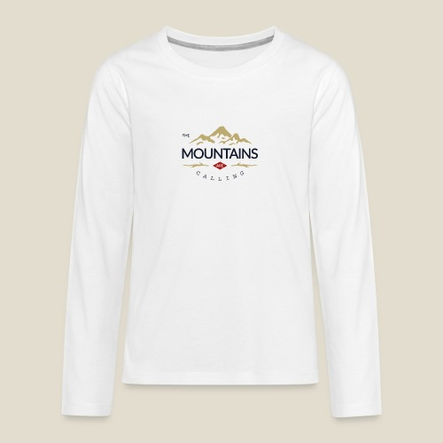 Outdoor mountain - T-shirt manches longues Premium Ado