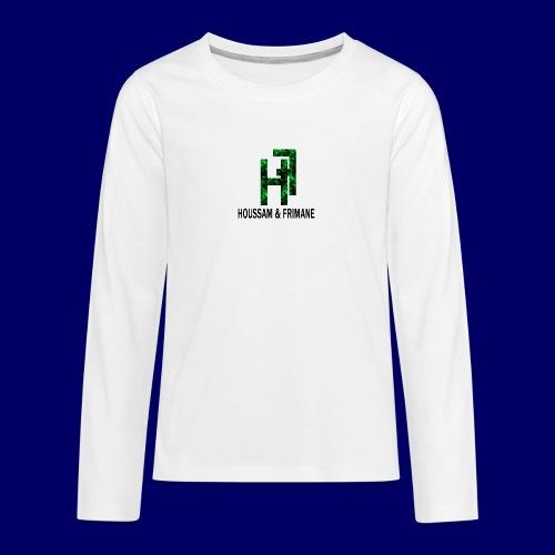 h&f - Maglietta Premium a manica lunga per teenager